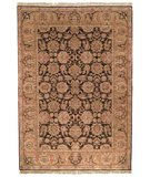 RugStudio presents Safavieh Old World OW115B Dark Brown / Gold Hand-Knotted, Best Quality Area Rug