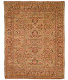 RugStudio presents Safavieh Old World OW115C Light Green / Gold Hand-Knotted, Best Quality Area Rug