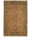RugStudio presents Rugstudio Sample Sale 46938R Gold / Green Hand-Knotted, Good Quality Area Rug
