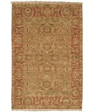 RugStudio presents Safavieh Old World OW115E Light Green / Rust Hand-Knotted, Best Quality Area Rug