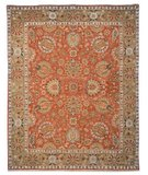 RugStudio presents Safavieh Old World OW117A COPPER / GREEN Hand-Knotted, Best Quality Area Rug