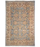 RugStudio presents Safavieh Old World OW122A Blue / Light Gold Hand-Knotted, Best Quality Area Rug