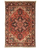 RugStudio presents Safavieh Old World OW126A Rust / Navy Hand-Knotted, Good Quality Area Rug