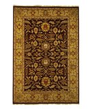 RugStudio presents Safavieh Old World OW224A Red / Light Gold Hand-Knotted, Good Quality Area Rug