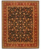 RugStudio presents Safavieh Persian Court PC104B Black / Red Hand-Tufted, Best Quality Area Rug