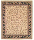 RugStudio presents Safavieh Persian Court PC106E Beige/Black Hand-Tufted, Best Quality Area Rug