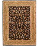 RugStudio presents Safavieh Persian Court PC110A Black / Light Green Hand-Tufted, Best Quality Area Rug