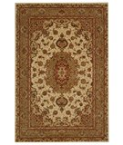 RugStudio presents Safavieh Persian Court PC119C Ivory / Green Hand-Tufted, Good Quality Area Rug