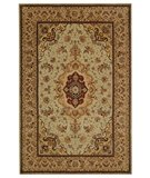 RugStudio presents Safavieh Persian Court PC129B Light Green / Beige Hand-Tufted, Best Quality Area Rug