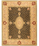 RugStudio presents Safavieh Persian Court PC172A Black / Beige Hand-Tufted, Good Quality Area Rug