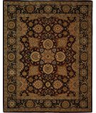 RugStudio presents Safavieh Persian Court PC459A Burgundy / Navy Hand-Tufted, Best Quality Area Rug
