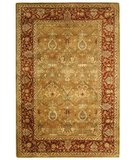 RugStudio presents Safavieh Persian Legend PL519B Light Green / Rust Hand-Tufted, Best Quality Area Rug