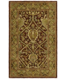 RugStudio presents Safavieh Persian Legend PL819K Red / Gold Hand-Tufted, Best Quality Area Rug
