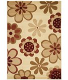 RugStudio presents Safavieh Porcello PRL4812C Ivory / Green Machine Woven, Better Quality Area Rug