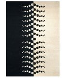 RugStudio presents Safavieh Rodeo Drive RD607A Ivory / Black Hand-Tufted, Better Quality Area Rug