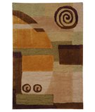 RugStudio presents Safavieh Rodeo Drive RD643A Beige Hand-Tufted, Better Quality Area Rug