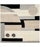 RugStudio presents Safavieh Rodeo Drive RD643B Neutral Hand-Tufted, Good Quality Area Rug