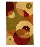 RugStudio presents Safavieh Rodeo Drive RD877A Rust / Ivory Hand-Tufted, Better Quality Area Rug