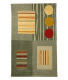 RugStudio presents Safavieh Rodeo Drive RD879B Gray / Multi Hand-Tufted, Better Quality Area Rug