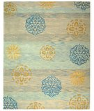 RugStudio presents Safavieh Rodeo Drive RD882A Blue / Multi Hand-Tufted, Better Quality Area Rug