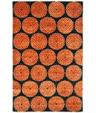 RugStudio presents Safavieh Rodeo Drive RD952B Rust / Black Hand-Tufted, Better Quality Area Rug