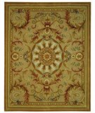 RugStudio presents Safavieh Savonnerie SAV203A Beige / Gold Hand-Tufted, Best Quality Area Rug