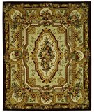 RugStudio presents Safavieh Savonnerie SAV204A Gold Hand-Tufted, Best Quality Area Rug