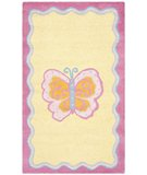 RugStudio presents Safavieh Kids SFK394A Multi / Pink Hand-Hooked Area Rug