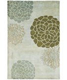 RugStudio presents Rugstudio Sample Sale 47104R Light Grey Hand-Tufted, Better Quality Area Rug