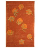RugStudio presents Safavieh Soho Soh304a Rust Hand-Tufted, Good Quality Area Rug
