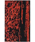 RugStudio presents Safavieh Soho Soh326b Black / Red Hand-Tufted, Better Quality Area Rug