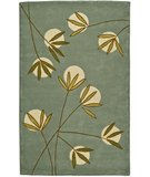 RugStudio presents Safavieh Soho Soh328a Light Blue / Green Hand-Tufted, Better Quality Area Rug