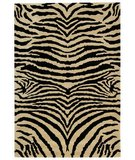 RugStudio presents Safavieh Soho Soh434a White / Black Hand-Tufted, Best Quality Area Rug