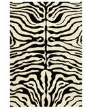 RugStudio presents Safavieh Soho Soh435a Black / White Hand-Tufted, Better Quality Area Rug