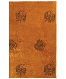 RugStudio presents Safavieh Soho Soh513b Gold / Brown Hand-Tufted, Best Quality Area Rug