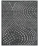 RugStudio presents Rugstudio Sample Sale 47192R Dark Grey Hand-Tufted, Better Quality Area Rug