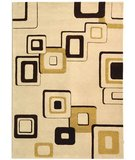 RugStudio presents Rugstudio Sample Sale 50319R Beige / Brown Hand-Tufted, Better Quality Area Rug