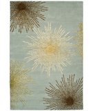 RugStudio presents Safavieh Soho Soh712c Light Blue / Multi Hand-Tufted, Better Quality Area Rug