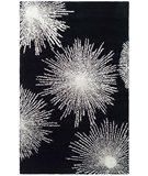 RugStudio presents Safavieh Soho Soh712d Black / White Hand-Tufted, Better Quality Area Rug