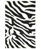 RugStudio presents Safavieh Soho Soh717a White / Black Hand-Tufted, Better Quality Area Rug