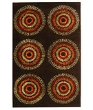 RugStudio presents Safavieh Soho Soh719b Brown / Gold Hand-Tufted, Best Quality Area Rug