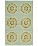 RugStudio presents Safavieh Soho Soh719c Light Blue / Multi Hand-Tufted, Better Quality Area Rug