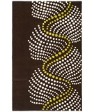 RugStudio presents Safavieh Soho Soh727a Brown / Beige Hand-Tufted, Better Quality Area Rug