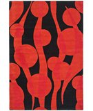RugStudio presents Safavieh Soho Soh755a Black / Red Hand-Tufted, Better Quality Area Rug
