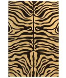 RugStudio presents Safavieh Soho Soh811a Beige / Charcoal Hand-Tufted, Good Quality Area Rug
