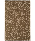 RugStudio presents Safavieh Soho Soh812c Brown / Ivory Hand-Tufted, Better Quality Area Rug