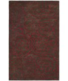 RugStudio presents Safavieh Soho Soh812d Chocolate / Red Hand-Tufted, Better Quality Area Rug