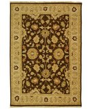 RugStudio presents Safavieh Sumak SUM411A Brown / Beige Flat-Woven Area Rug
