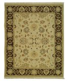RugStudio presents Safavieh Sumak SUM411B Ivory / Brown Flat-Woven Area Rug