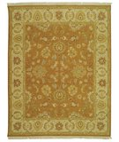 RugStudio presents Safavieh Sumak SUM414A Gold / Ivory Flat-Woven Area Rug